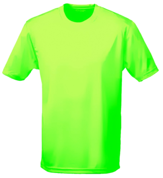 neon kinder sport t shirts neongelb neongr n neonpink neonorange kinder funktionsshirts. Black Bedroom Furniture Sets. Home Design Ideas