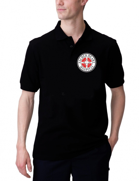 scrubs sacred heart hospital poloshirt coole fun t shirts. Black Bedroom Furniture Sets. Home Design Ideas