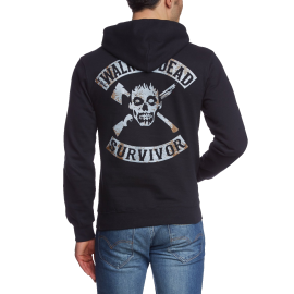 THE WALKING DEAD - SURVIVOR -  Sweatshirt mit Kapuze - Hoodie S