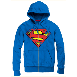 SUPERMAN - SWEATSHIRTJACKE - Justice League - Superhelden - Jack