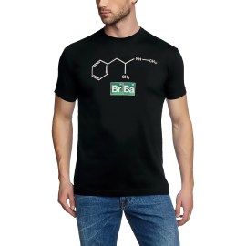 BREAKING BAD ELEMENTS - HEISENBERG ORIGINAL T-SHIRT Schwarz - S