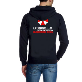 UMBRELLA CORPORATION Zipper vo+hi Sweatshirt mit Kapuze Hoodie S
