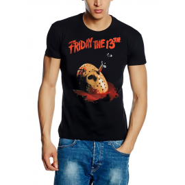 Friday 13th dagger original Herren Freitag der 13. T-Shirt  Schwarz  S M L XL 2XL