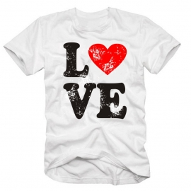 LOVE T-SHIRT VALENTINSTAG T-SHIRT