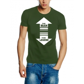 THE MAN - THE LEGEND - T-SHIRT S M L XL XXL XXXL