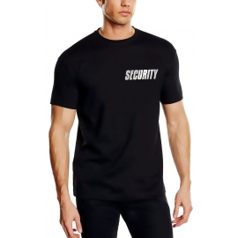 SECURITY - T-SHIRT - reflektierende Folie