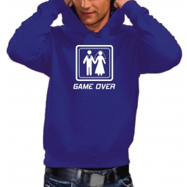 GAME OVER - HOODIE SWEATSHIRT MIT KAPUZE
