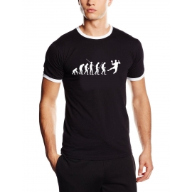 Handball evolution Ringer T-Shirt