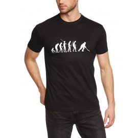 Eishockey evolution T-SHIRT ICEHOCKEY