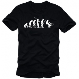 BMX Evolution T-Shirt S M L XL XXL XXXL