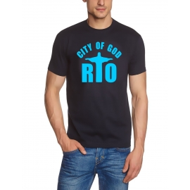 RIO CITY OF GOD T-SHIRT  T-Shirt