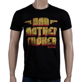 Pulp Fiction - Bad Mother Fucker Schwarz T-Shirt, GR.S M L XL