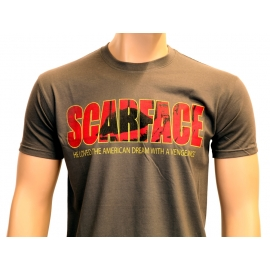 SCARFACE - THE AMERICAN DREAM - T-SHIRT - Grau S M L XL