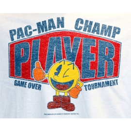 PACMAN -  Arcade - Level 256 T-SHIRT WEISS S M L XL XXL