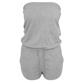 Ladies Hot Jumpsuit  Black and Gray XS S M L XL