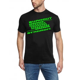 BURNOUT SYNDROM ! T-Shirt  S M L XL 2XL 3XL 4XL 5XL