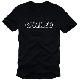 OWNED Counterstrike t-shirt Besiegt/Geschlagen S-XXXL