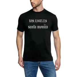LA santa monica LOS ANGELES 93 t-shirt