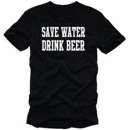 SAVE WATER - DRINK BEER T-SHIRT