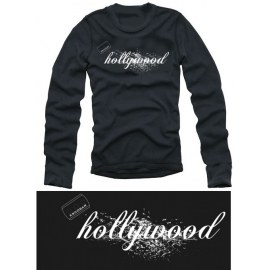 Hollywood COCAINE LONGSLEEVE T-Shirt black kokain