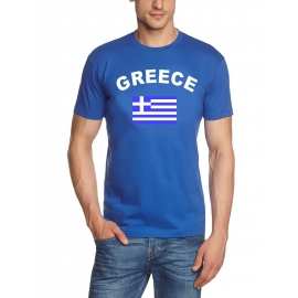 GRIECHENLAND T-SHIRT GREECE S - XXL royalblau